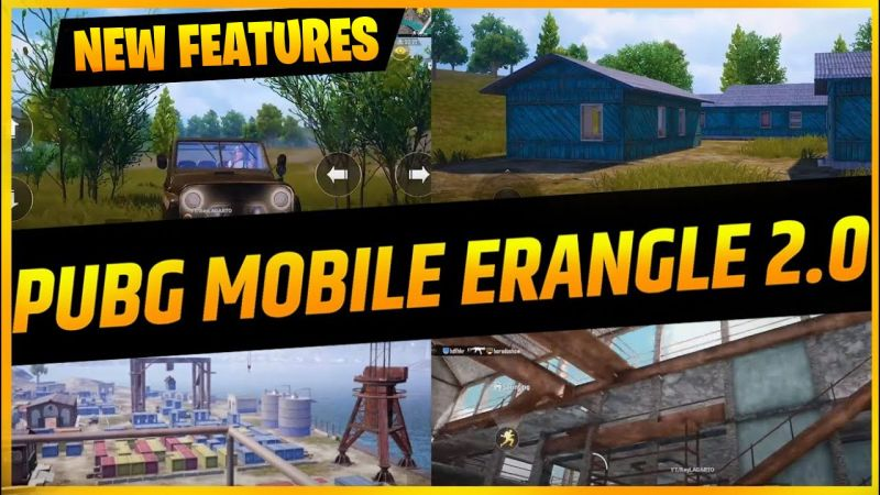 PUBG Mobile: Latest Features of Erangel 2.0
