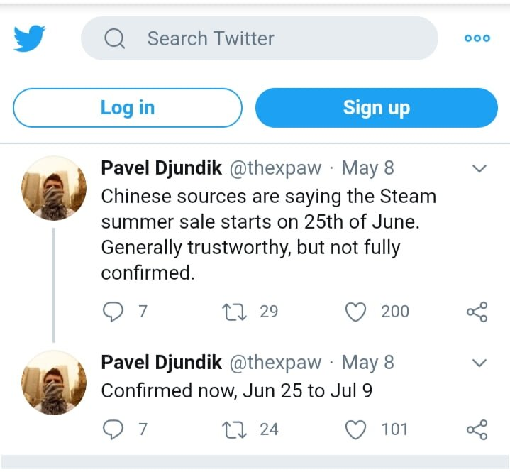 Pavel djundik twitter steam