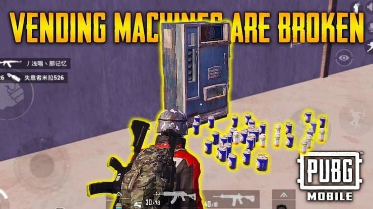 PUBG Mobile: All About Vending Machine in Miramar 2.0